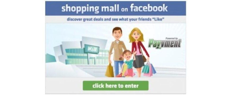Social Shopping auf Facebook