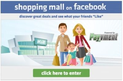 Facebook launched die erste Social-Shopping-Mall