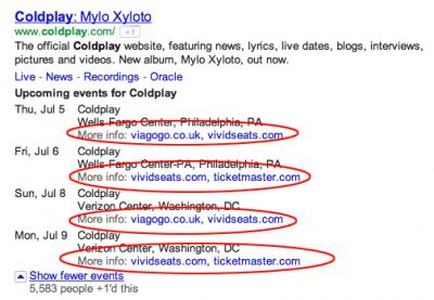 Testet Google sein nächstes Vertical?