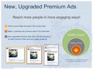 Neue Facebook Ads mit Premiumfunktion