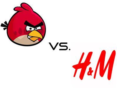 Angry Birds vs. H&M - Showdown im März