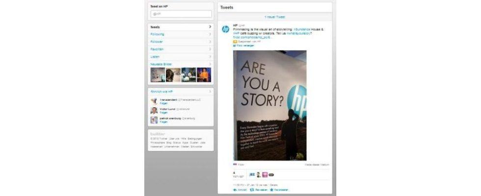 Twitter Firmenprofile in der Beta-Phase