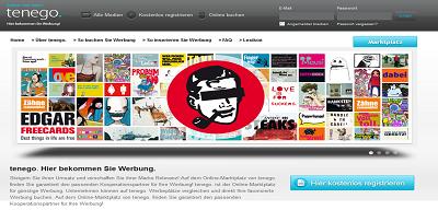 Neuer medienübergreifender Werbemarktplatz tenego