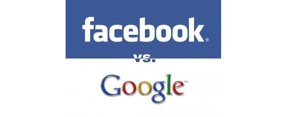 Infografik: Facebook Ads vs. Google Display-Anzeigen