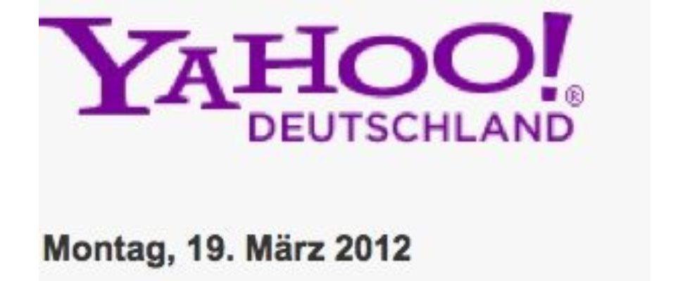 Nächste Runde: Yahoos Denkfabrik nimmt ihren Hut