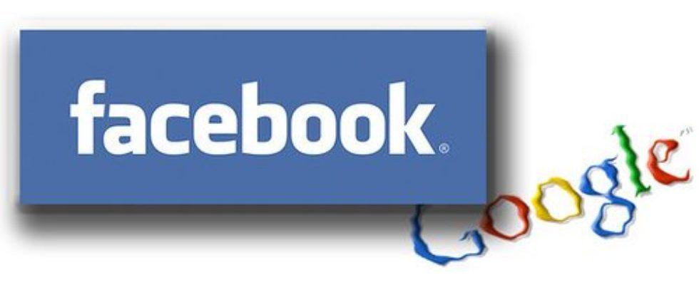 Wer gewinnt? Google gegen Facebook