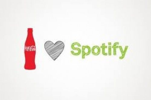 Coca Cola Musikplayer mit Spotify