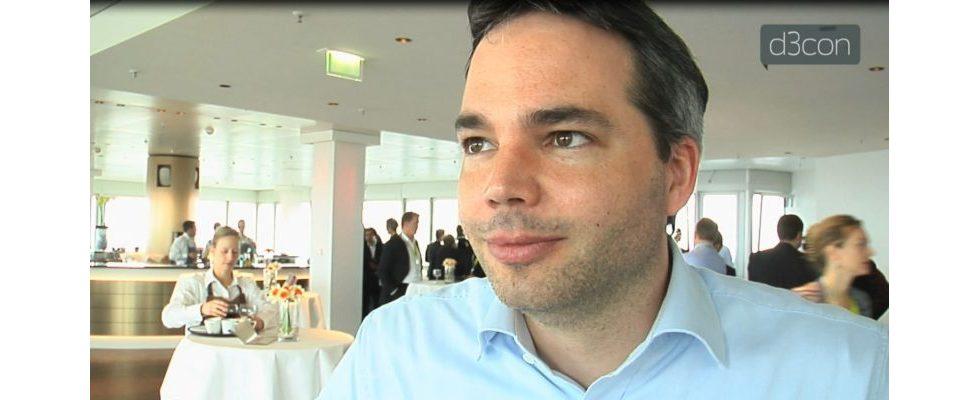 Florian Heinemann im Interview auf der d3con