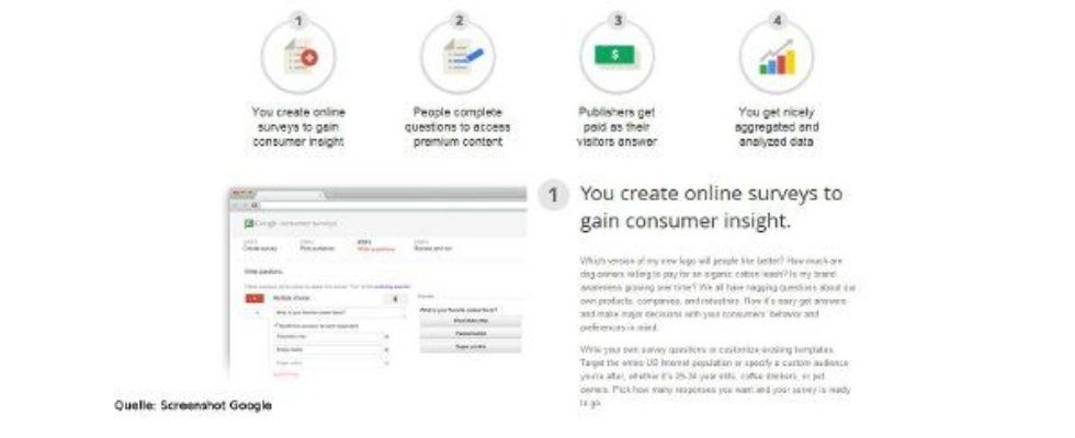 Was Kunden wollen – Google launcht Umfragetool