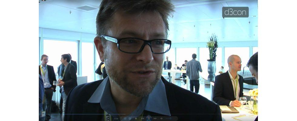 Hendrik Kempfert im Interview auf der d3con