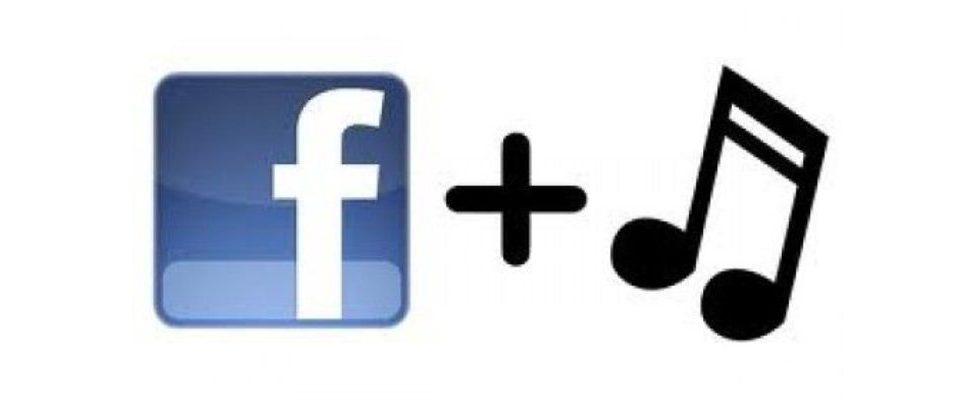 Musik direkt über Facebook anhören