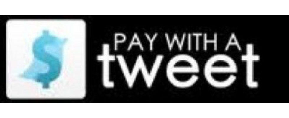 Paywithatweet – bezahlen per Tweet