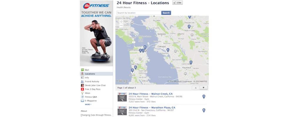 Lokale Facebook Seiten laufen Corporate Pages den Rang ab