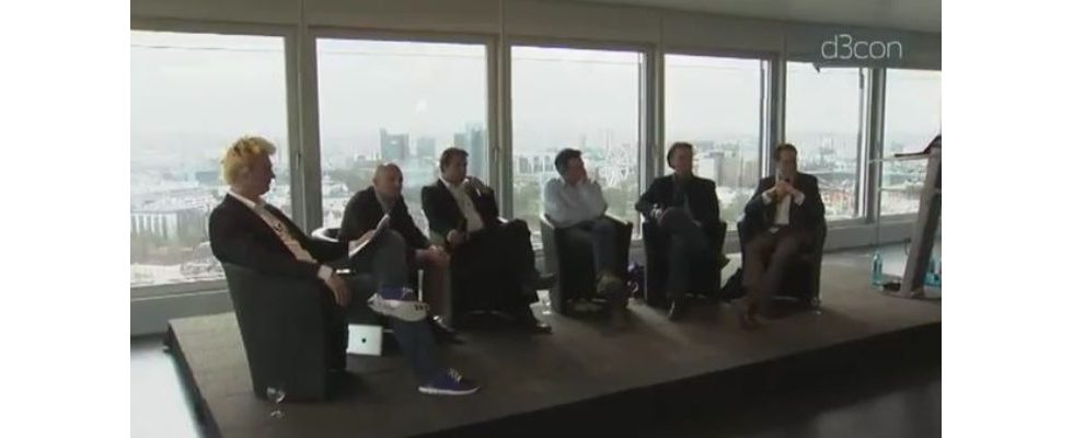 Unternehmer-Panel auf der d3con-Konferenz 2012
