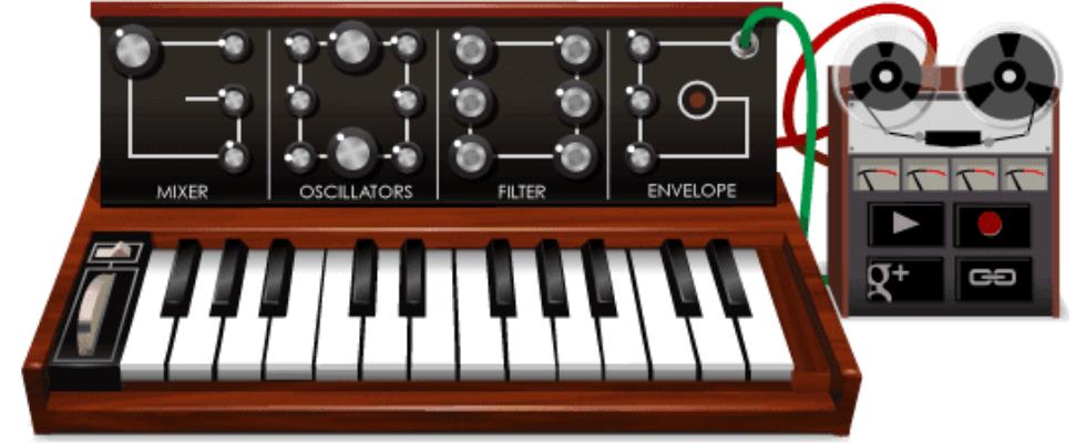 Google Doodle von heute: Robert Moog
