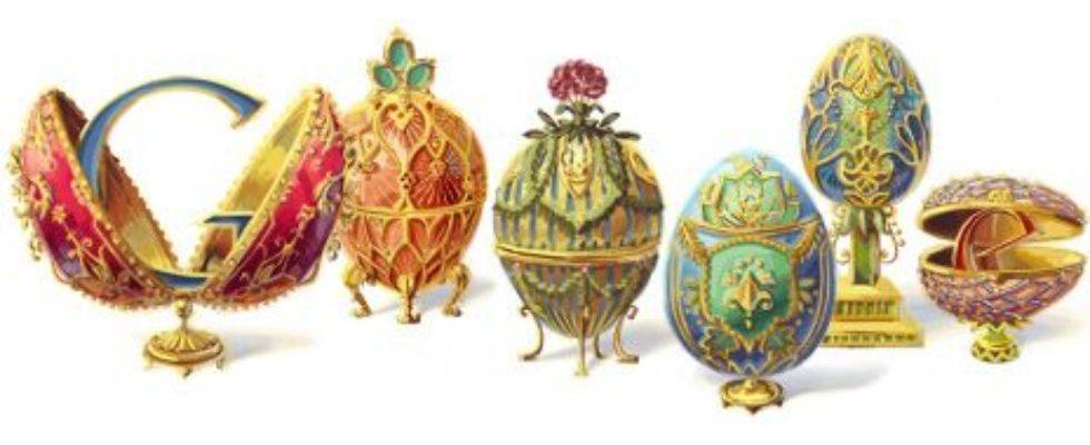 Google Doodle von heute: Peter Carl Fabergé
