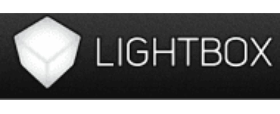Bei Lightbox gehen die Lichter aus