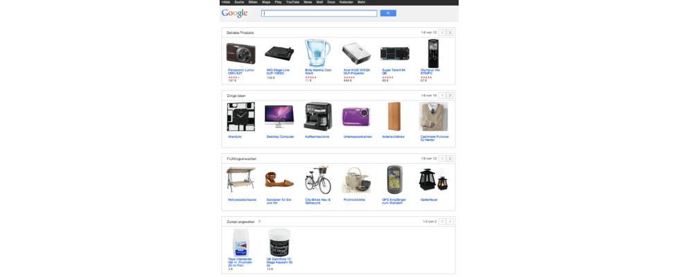 Vorbei: Kostenlose Listung in Google Produktsuche