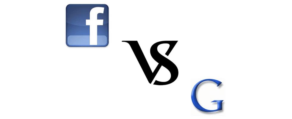 Facebook vs. Google: nächste Runde, bitte!