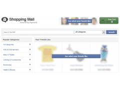 Shopping-Oberfläche: Payvment