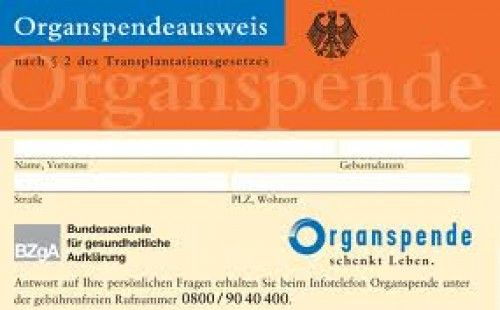 Organspende Option bei Facebook