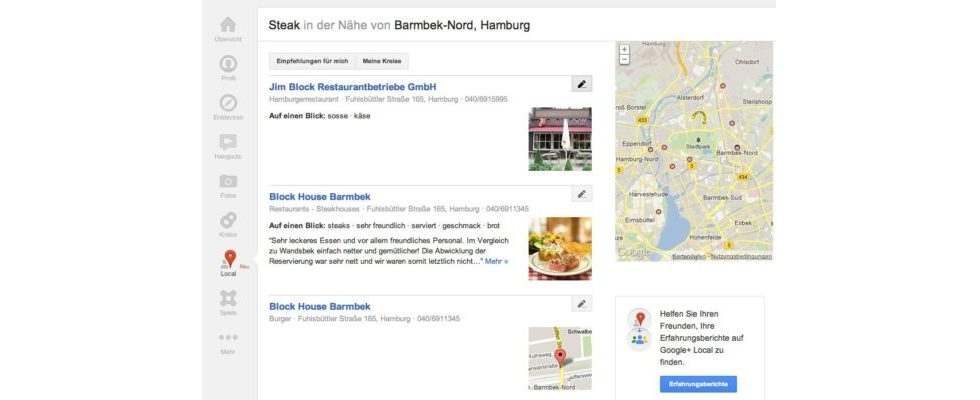 Aus Google Places wird Google Local