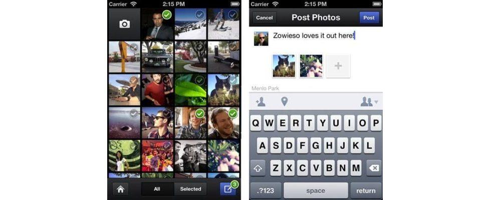 Facebook launcht Kamera-App – wozu Instagram?