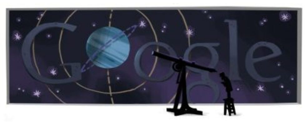 Google Doodle von heute: Johann Gottfried Galle