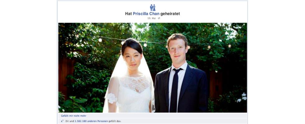 Wer nutzt Lebensereignisse auf Facebook?