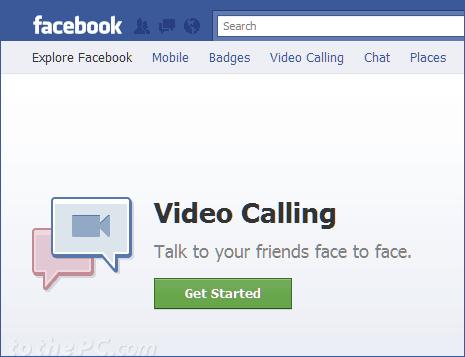 Videotelefonie mit Facebook