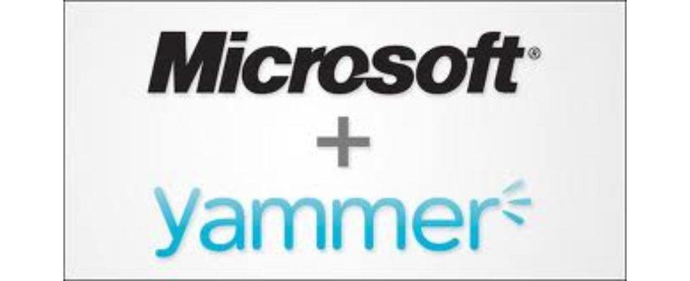 Microsoft kauft Yammer für 1,2 Milliarden US-Dollar