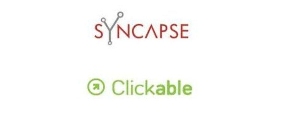 Übernahme, die Xte: Syncapse kauft Clickable