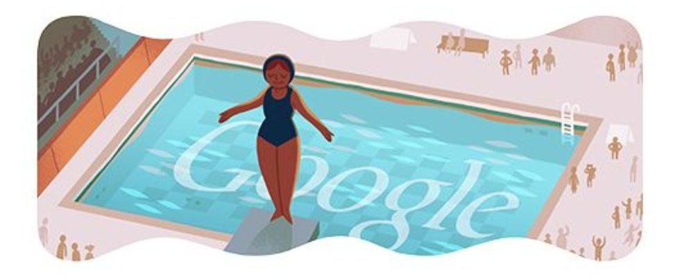 Google Doodle von heute: Wasserspringen
