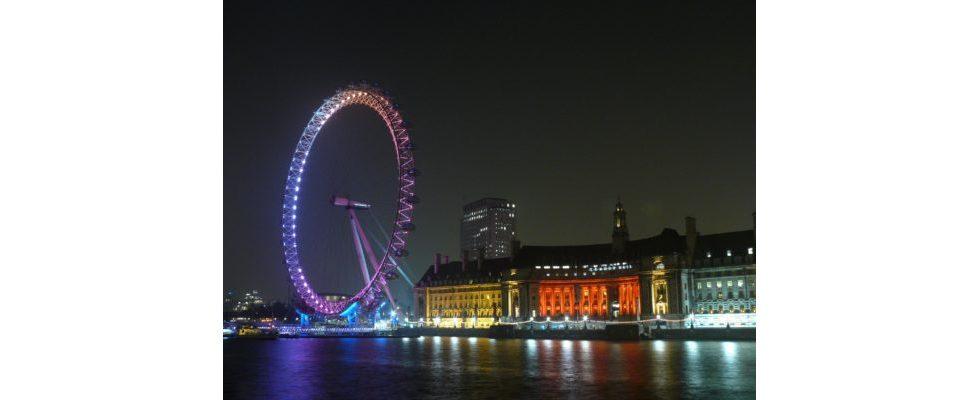 Sentiment Analysis: Die Lightshow von London