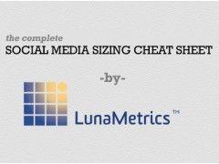 Social Media Sizing Cheat Sheet