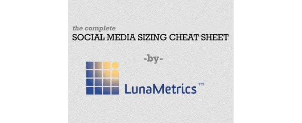 Die richtige Größe bei Social Media Grafiken