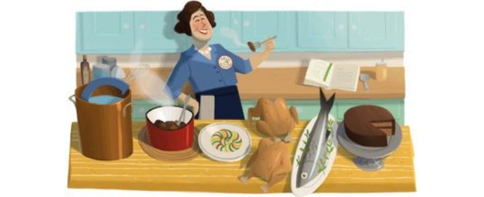 Google Doodle von heute: Julia Child