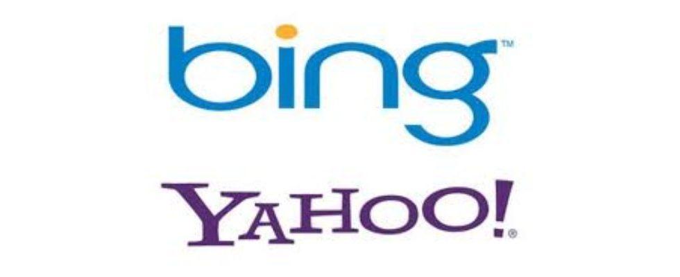 Search: Für Bing und Yahoo geht's abwärts