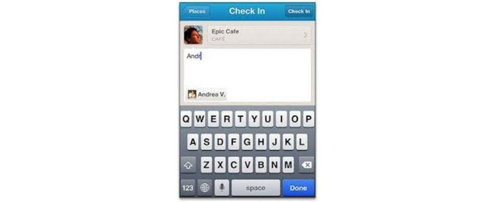 Facebook: Freunde in Open Graph App taggen
