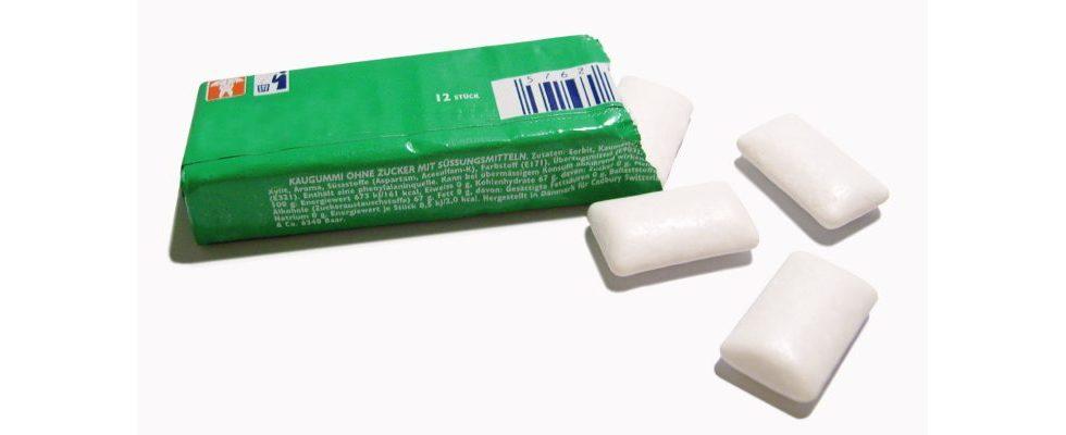Stride Gum parodiert Apple