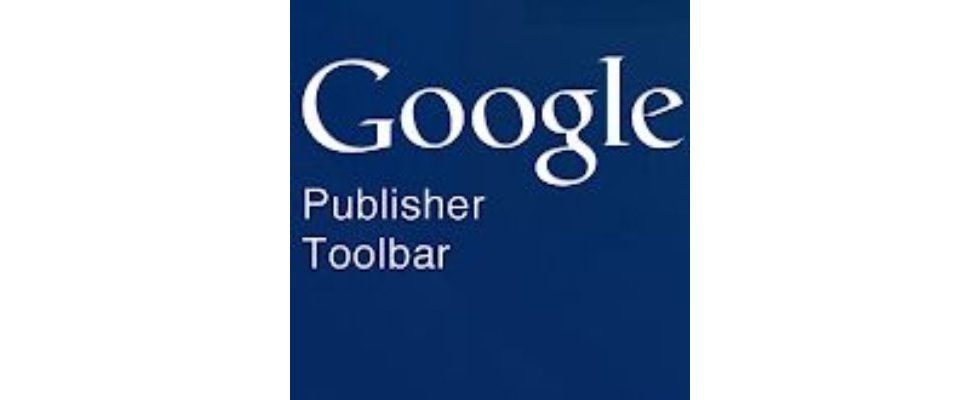 Google Chrome integriert Publisher Toolbar