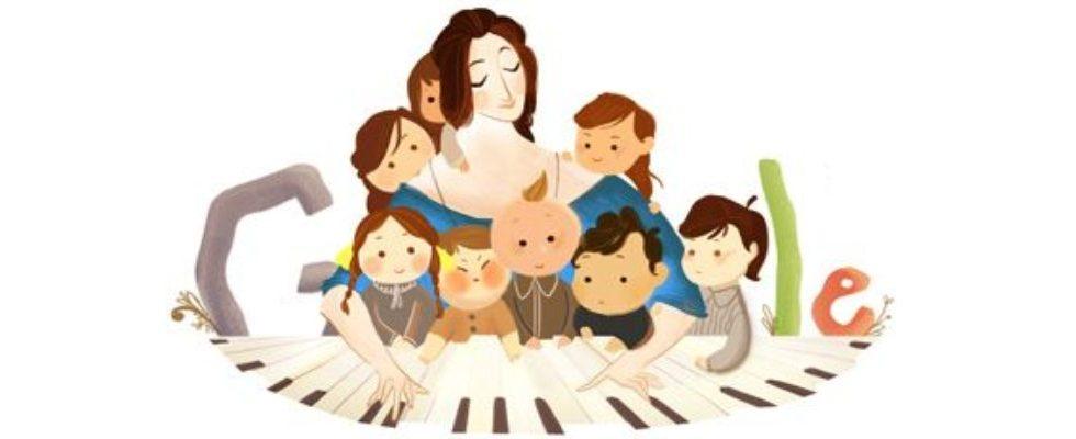 Google Doodle von heute: Clara Schumann