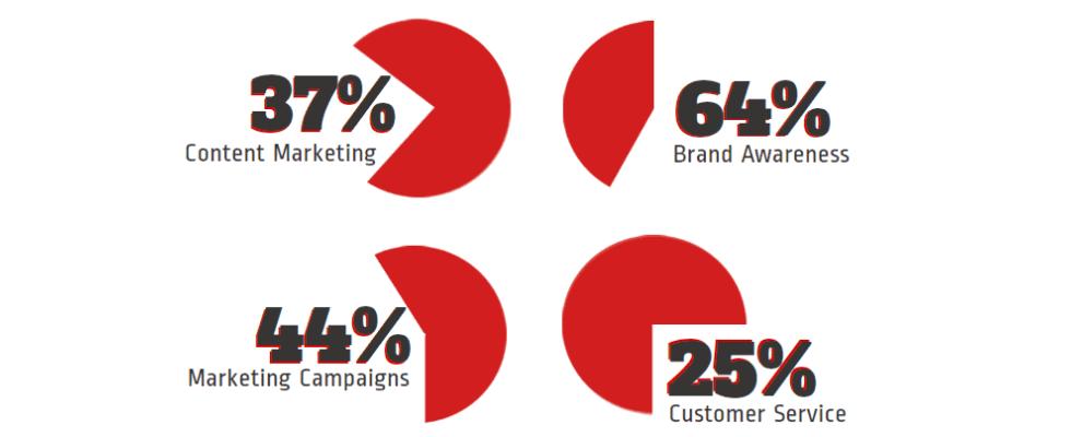 Infografik: Marken in sozialen Netzwerken