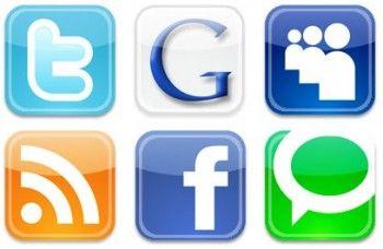 Alleine zu wenig: Social Media-Buttons