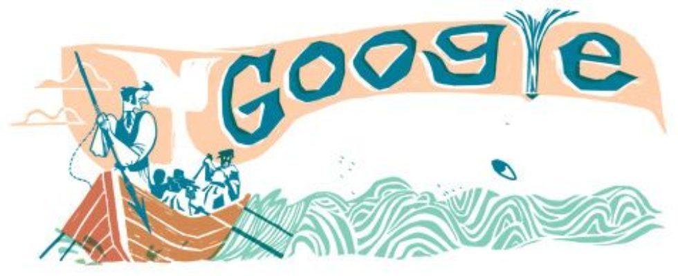 Google Doodle von heute: Herman Melville
