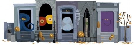 Google Doodle von heute: Happy Halloween!