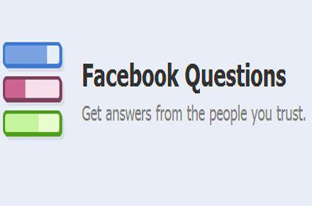 "Facebook schließt das ""Question""-Feature"