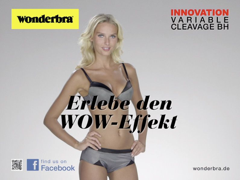 Die Wonderbra Augmented-Reality-App
