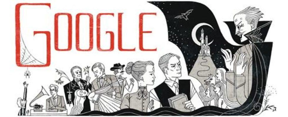 Google Doodle mit Tippfehler: Bram Stocker