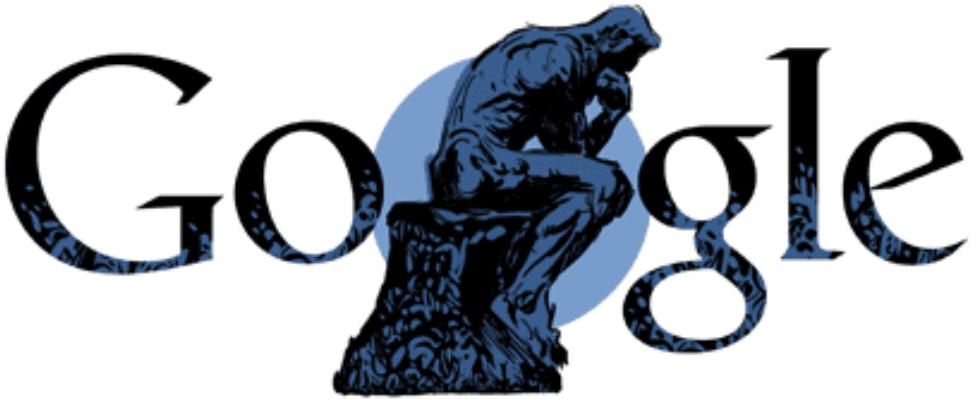Google Doodle von heute: Auguste Rodin